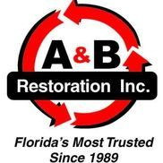 a and b restoration logo